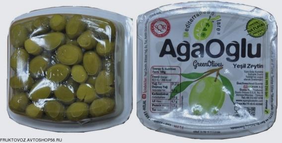 Оливки с косточкой в рассоле ~ 400 грамм