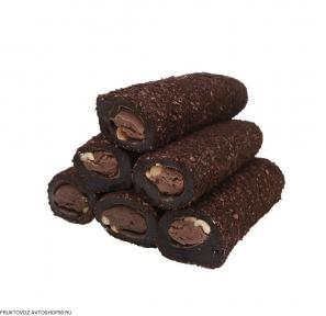 Шоколадный лукум с фундуком в кофейной обсыпке